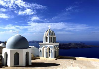ギリシャ【3】サントリーニ島 フィロステファニ・イメロヴィグリ
