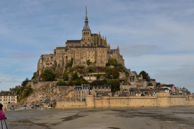 初めてのフランス パリ その6 モンシャンミッシェル日帰りツアー