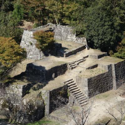 苗木城は日本のマチピチュ。すばらしい山城です。