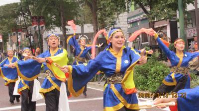 横浜よさこい祭りと太極拳祭