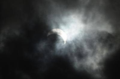 インドネシア皆既日食とボルブドゥール遺跡の旅(2)バランカラヤでの日食観測