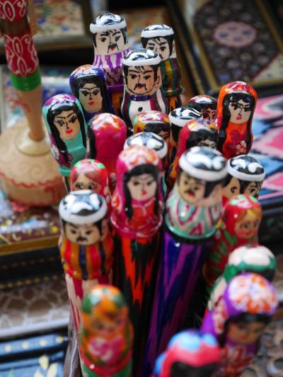 【中央アジア】゜*・ 9/9作目 ウズベキスタン首都タシケント★かわいい土産たち編 ・* ゜