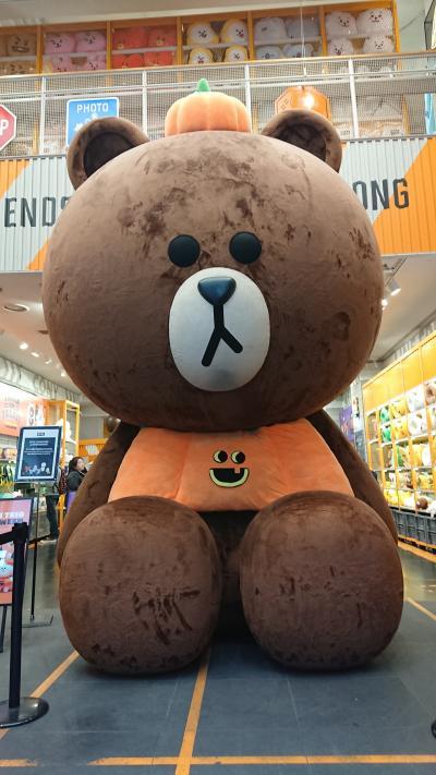 美味しいぞ韓国!食べて買って食べての旅201810②(1日目:明洞と東大門編)
