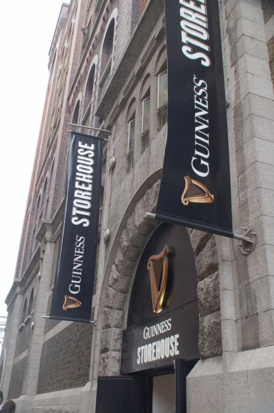 Guinness Storehouseでギネスを飲んだ