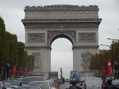 フランス・パリ出張 ちょっとの空き時間と早朝・移動中で少し観光〔前半〕(2018年10月)