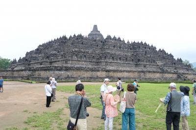 インドネシア皆既日食とボルブドゥール遺跡の旅(3)ボルブドゥール遺跡