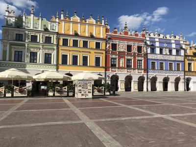 ポーランドとスロバキア13日間の旅 ⑪ イタリアルネッサンスの街ザモシチ!