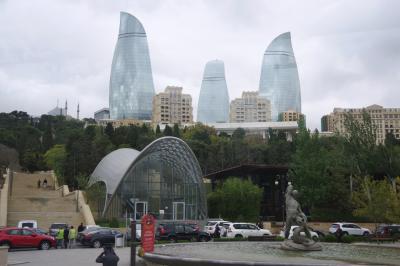 コーカサス3国周遊 アゼルバイジャン(1)