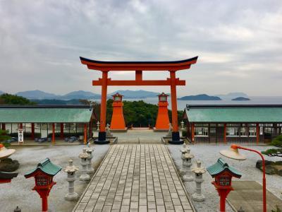 ぶちええ山口!あの橋へ、あの神社へ、福富稲荷神社もよかったよ~2018角島絶景編