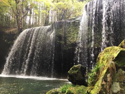 鍋ケ滝とはげの湯のコイン式温泉へ