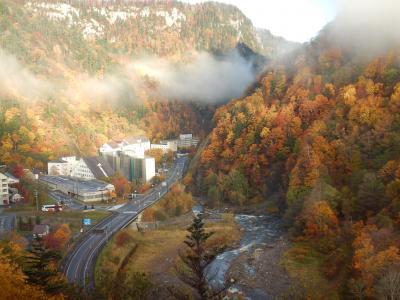 2018 10月の北海道【1】層雲峡で紅葉散歩