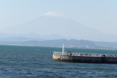 江の島弁天橋は富士山のビュースポット