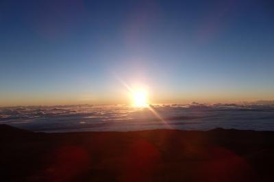 2018.10 ハワイ島(10)レッツゴーマウナケア 満月の星空観察に標高4200mからの日の出鑑賞