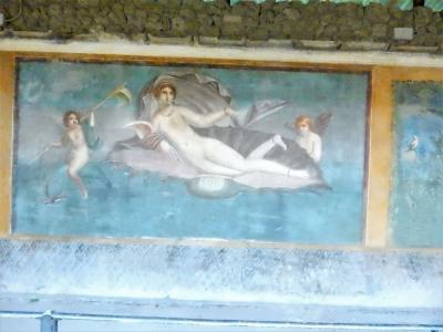 貝のヴィーナス の家  ポンペイ4