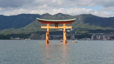 広島☆宮島、広島城などひとり旅