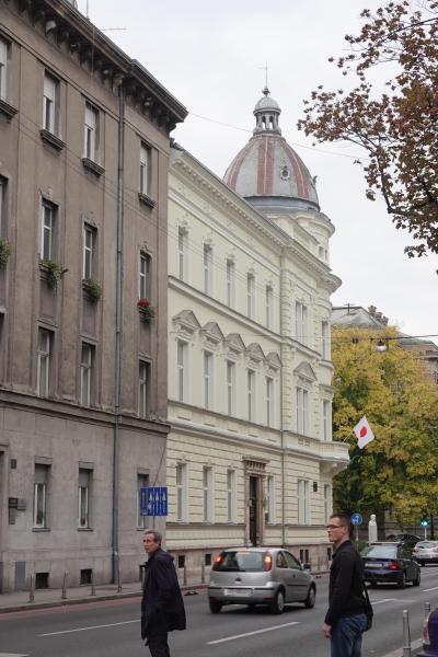 同級生クロアチア大使表敬訪問の旅