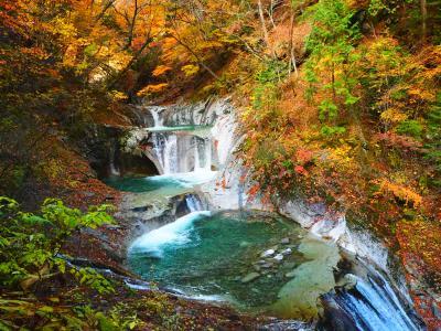 ドンピシャの紅葉ハイキング@西沢渓谷