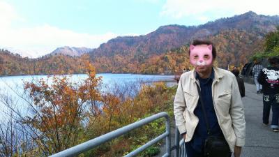 奥只見湖の紅葉を見に行く