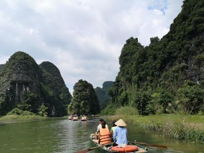 初めてのベトナム、ハノイとチャンアン