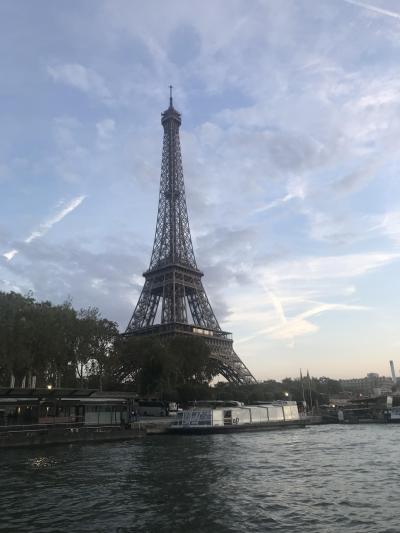 初めてのフランス パリ その7 セーヌ川クルーズ