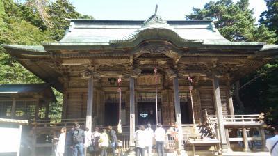 二度目の金華山黄金山(こがねやま)神社参拝と女川。宮古市を巡る。