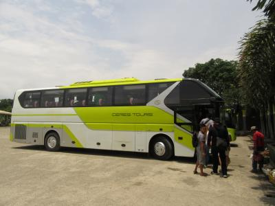 ドゥマゲテ=バコロドCeresバス往復の旅
