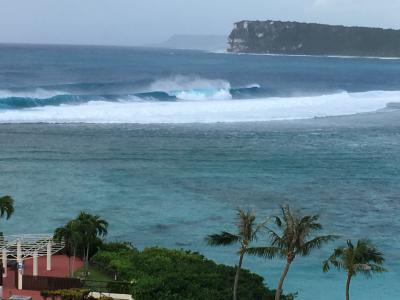 2018年10月 台風一過とならないグアム