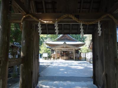 井伊谷宮(いいのやぐう)に参拝。なかなか歴史の古い土地のようです。