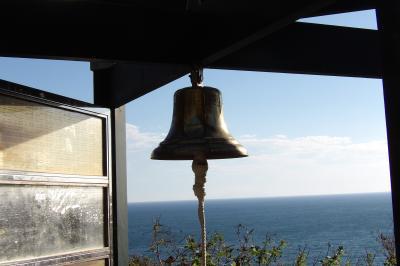 江の島龍野ヶ岡自然の森に龍恋の鐘
