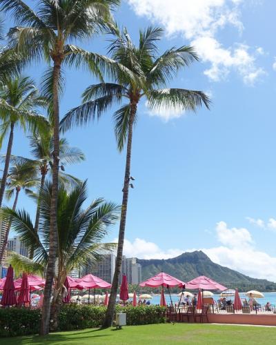 Hawaii * ロイヤルハワイアンホテル まさかのストライキ中! その2