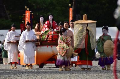 2018 京都の秋を彩る時代祭(京都御苑)前半