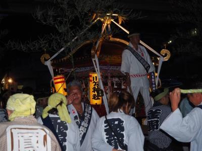川勾神社 みそぎ祭 海岸へ繰り出す神輿を見てきました! やっぱり興奮しますねえ!頼朝の時代から徳川家に至るまでご縁の深い神社さん