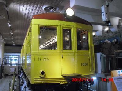 地下鉄博物館へ行った。