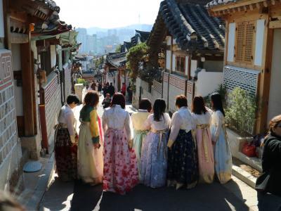 韓国 北村韓屋村