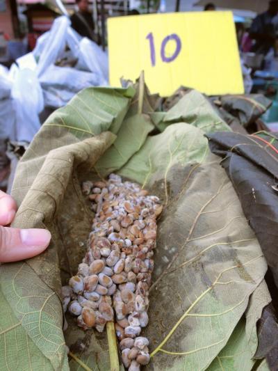 2018年 7月 タイ・チェンマイ 雲南ムスリム市場で「謎のアジア納豆」をついに発見!