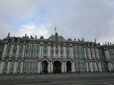 ツアーで行く初ロシア(その1:サンクトペテルブルク)