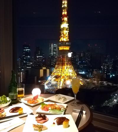 結婚10周年記念はザ・プリンスパークタワー東京のクラブフロアでお祝い