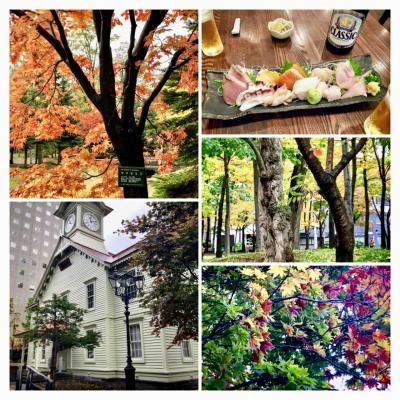 カラフルで美味しい秋の札幌