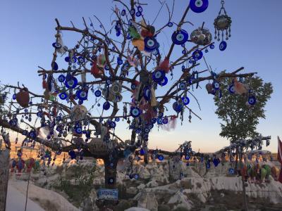2018年夏中東3か国⑦ カッパドキア1日目 グリーンツアーで奇岩三昧