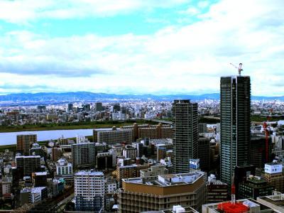 ねぎ焼やまもとで大阪粉モノを食べ、インターコンチネンタル大阪で寛いだだけの2日間