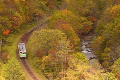 秋の北海道、道央地方を巡る旅 ~廃止が正式決定したJR石勝線夕張支線の紅葉を見に訪れてみた~