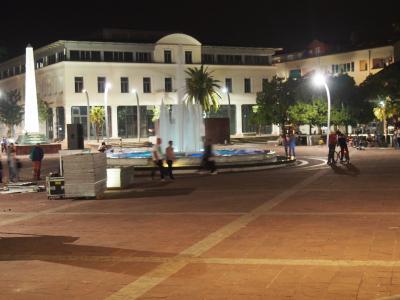 モンテネグロの首都で静かな落ち着いた街、ボドゴリツァ