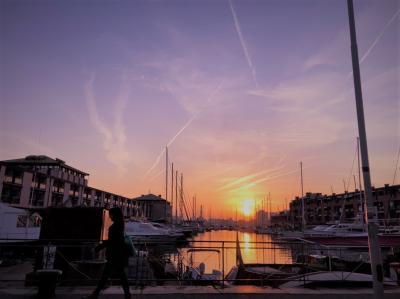 5歳子連れ・秋の北イタリア2018【5.ジェノヴァで夕暮れと美味しいごはんを楽しむの巻】