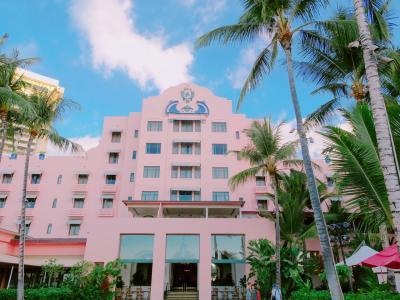 ハワイ母娘たび☆2018.10.24~31 2日目 憧れのピンクパレス、ロイヤルハワイアンに宿泊!ストライキの様子は…?