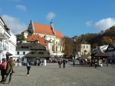 ポーランド2・・小さな美しい村、カジミエシュ・ドルヌイ