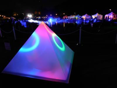 創エネ・あかりパーク2018 上野公園の光のイベントと上野東照宮のライトアップ