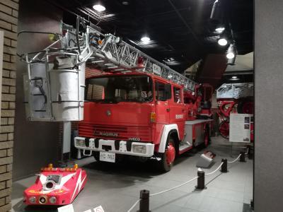 消防博物館 「四谷三丁目交差点角」