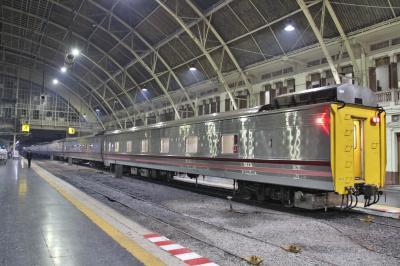 136. 往復5.3万円のタイ&ちょこっとラオス。Day1&2 新型寝台列車+国境越え列車でヴィエンチャン