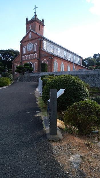 大野教会・出津教会・黒島天主堂 今日もWEB SUNQパスでバス旅続きます。