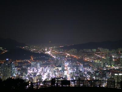 韓国 釜山-広安里、荒嶺山烽燧台